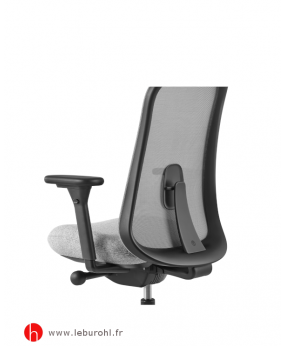 Fauteuil Lino structure Black Support lombaire Herman Miller Le Buro HL