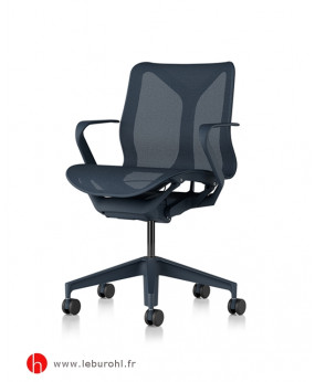 Cosm Nightfall bas dossier accoudoirs fixes Herman Miller Le Buro HL
