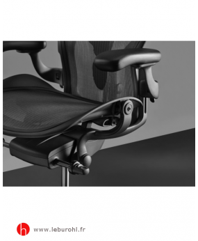 Fauteuil Aeron Graphite détail Herman Miller Le Buro HL