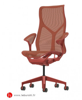 Cosm canyon haut dossier accoudoirs leaf Herman Miller Le Buro HL 1