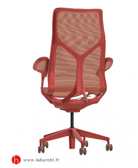 Cosm canyon haut dossier accoudoirs leaf Herman Miller Le Buro HL 3