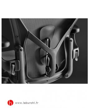 Fauteuil Aeron Graphite détail Herman Miller Le Buro HL 2