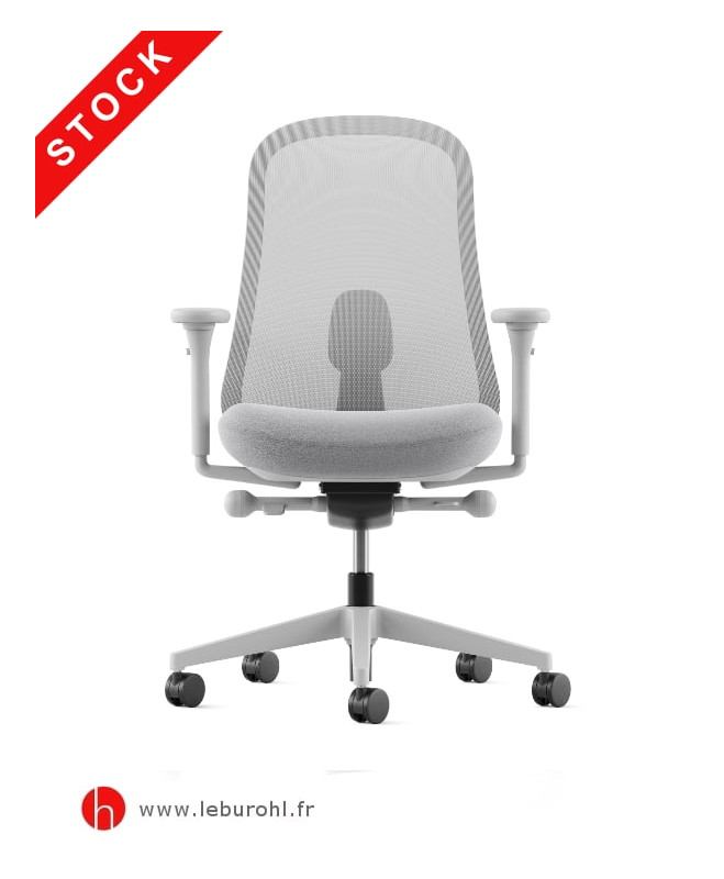 Fauteuil Lino Mineral Herman Miller Le Buro HL2