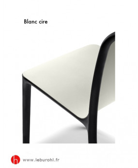 Chaise Bika Forma 5 Le Buro HL Blanc cire
