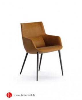 Chair BOW 4 pieds métal