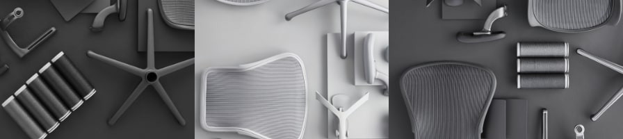 Pièces détachées pour restaurer votre fauteuil Herman Miller