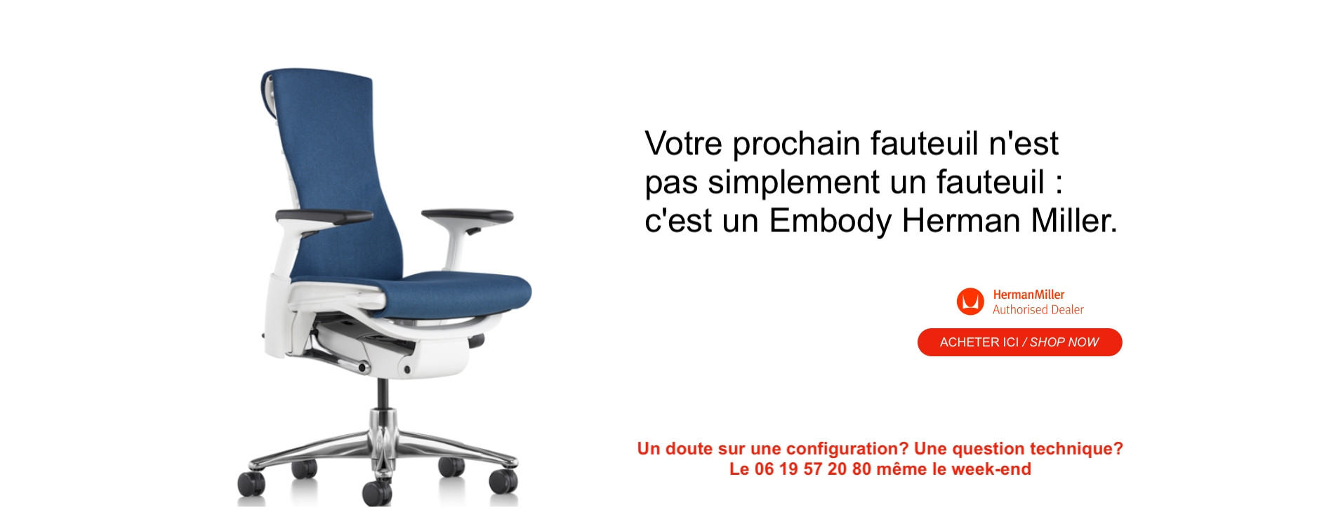 Your next chair is an Embody Herman Miller