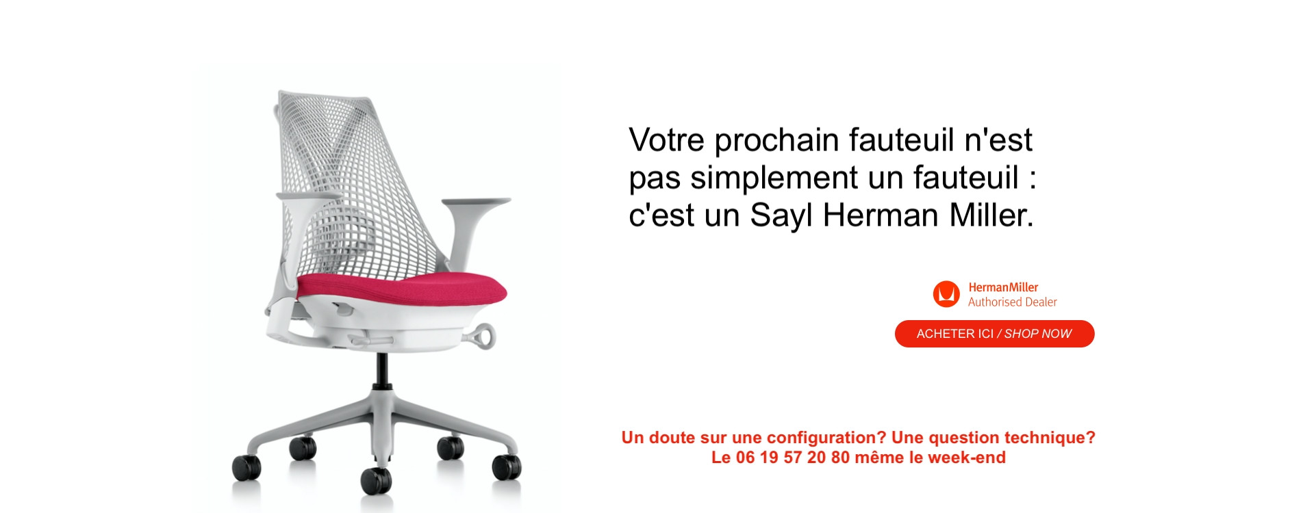 Your next chair is a Sayl Herman Miller