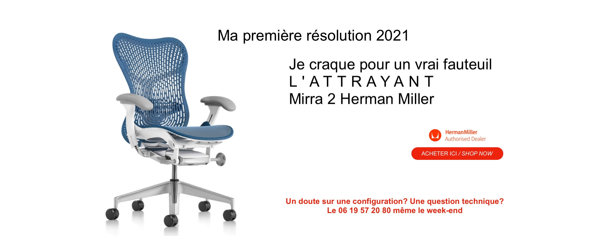 Your next chair is a Mirra Herman Miller